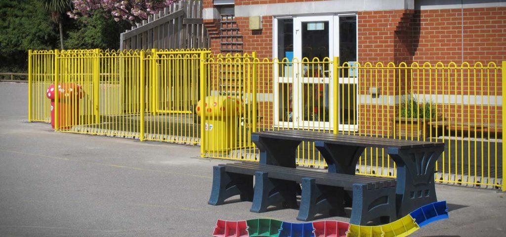 school fencing in Kingston